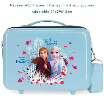 Cosmetic Bag Frozen II Trust thy customizable travel 21x29x15cm free shipping