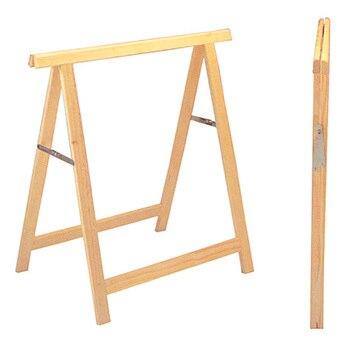 Caballete de madera de pino 75 x 17 cm Standard