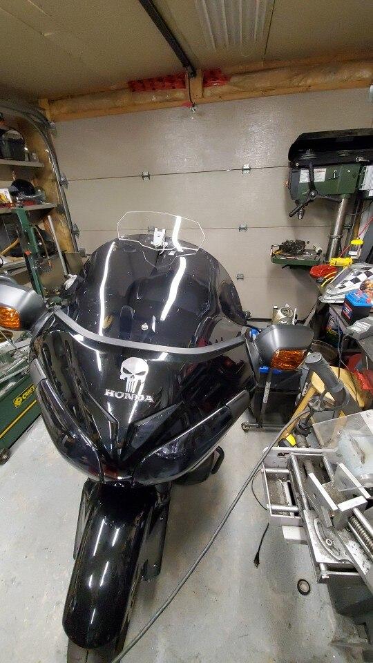 Defletores de vento e parabrisas Motocicleta Kawasaki Modificado