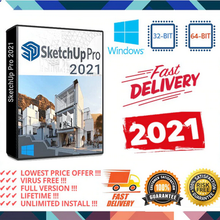 Google SketchUp Pro 2021✅+ Real Next 5-✅Windows Vie Installateur✅