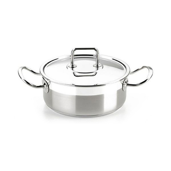 Casserole with lid BRA A340355 (24 cm)