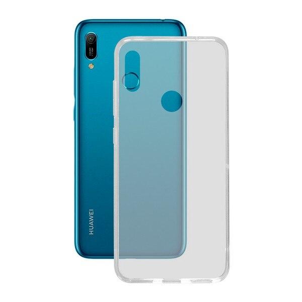 Mobile cover Huawei Y6 2019 KSIX Flex TPU Transparent|  - title=