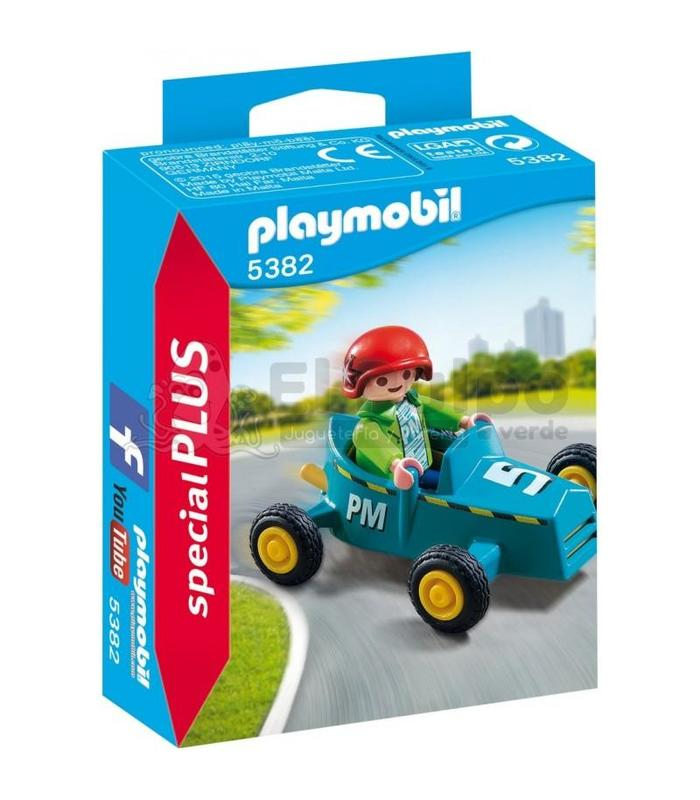 Playmobil 5382 Child With Kart Toy Store