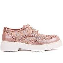 Moxee   Pudra Dantelli Kadın Günlük Ayakkabı