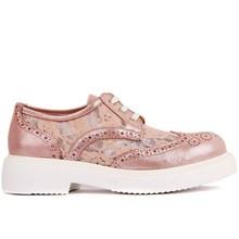 Moxee Pulver Geraffte Frauen Täglich Casual Schuhe