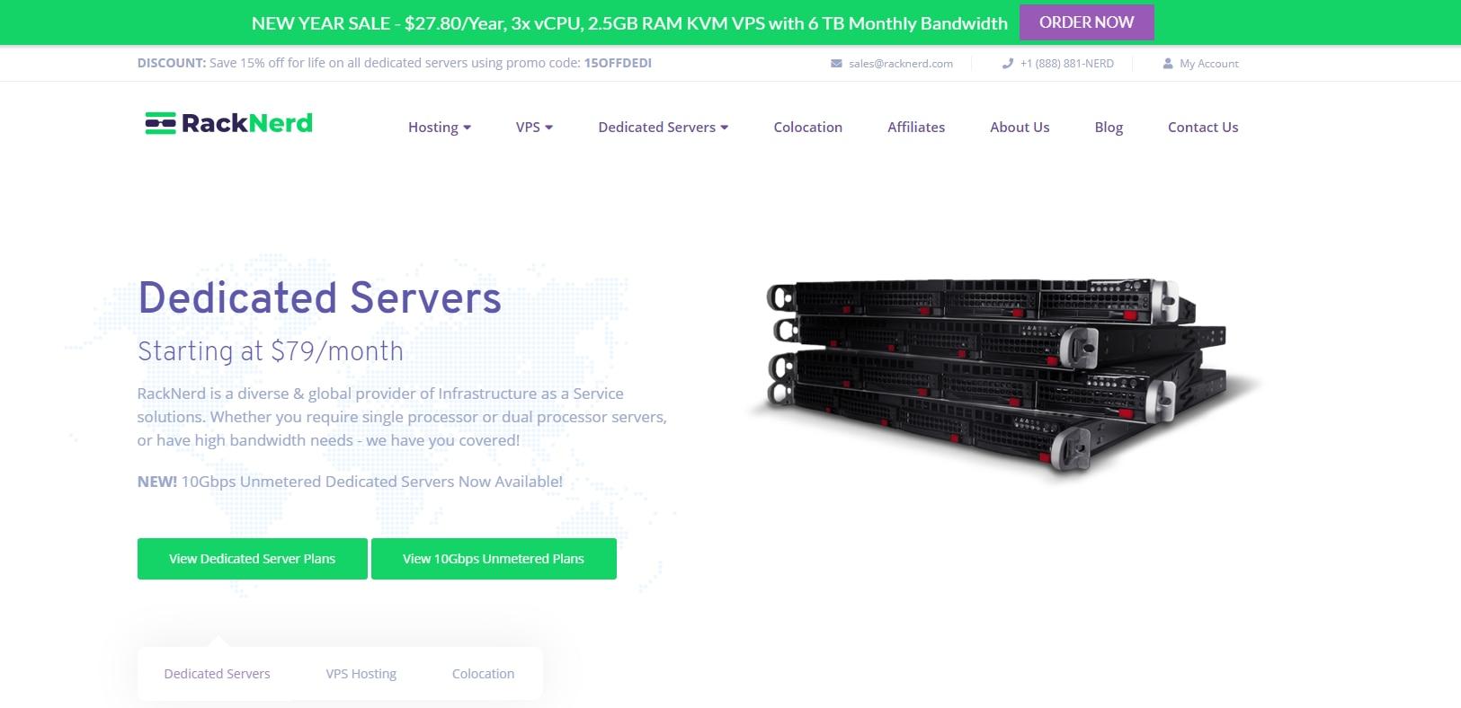 RackNerd 美国VPS促销/KVM/768M内存/12g硬盘/2T流量/$13.93/年