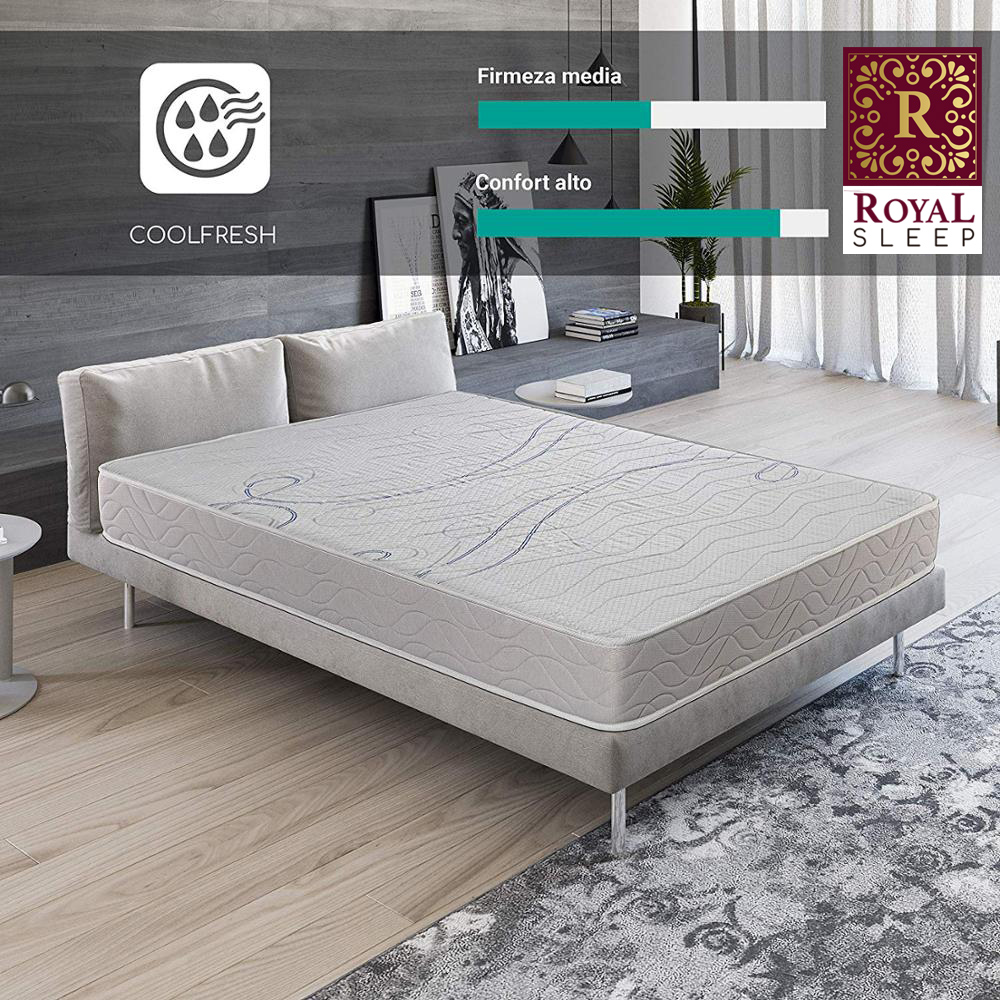 Royal Sleep Xfresh Premium Mattress Viscoelastic 21cm Comfort And Firmness Beds Bedroom Marriage Bed And Individual