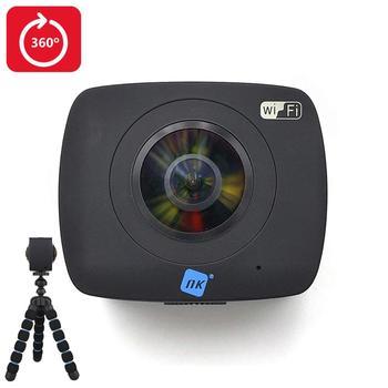 NK カマラ Acción Deportiva 360 ° AC3091 36D フル Hd 1080p | Doble Óptica | Sistema Realidad 仮想 | Soporte 360 ° YouTube -