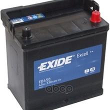 Аккумулятор Excell 12v 45ah 330a 218х133х223 Полярность Etn0 Клемы En Крепление B1 EXIDE арт. EB450