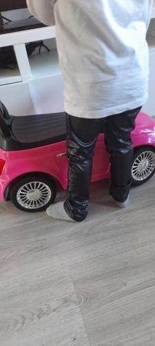 Grils leggings faux leather high quality slim children leggings Baby kids High elasticity skinny pants leggings 4-13Y GPU682 photo review