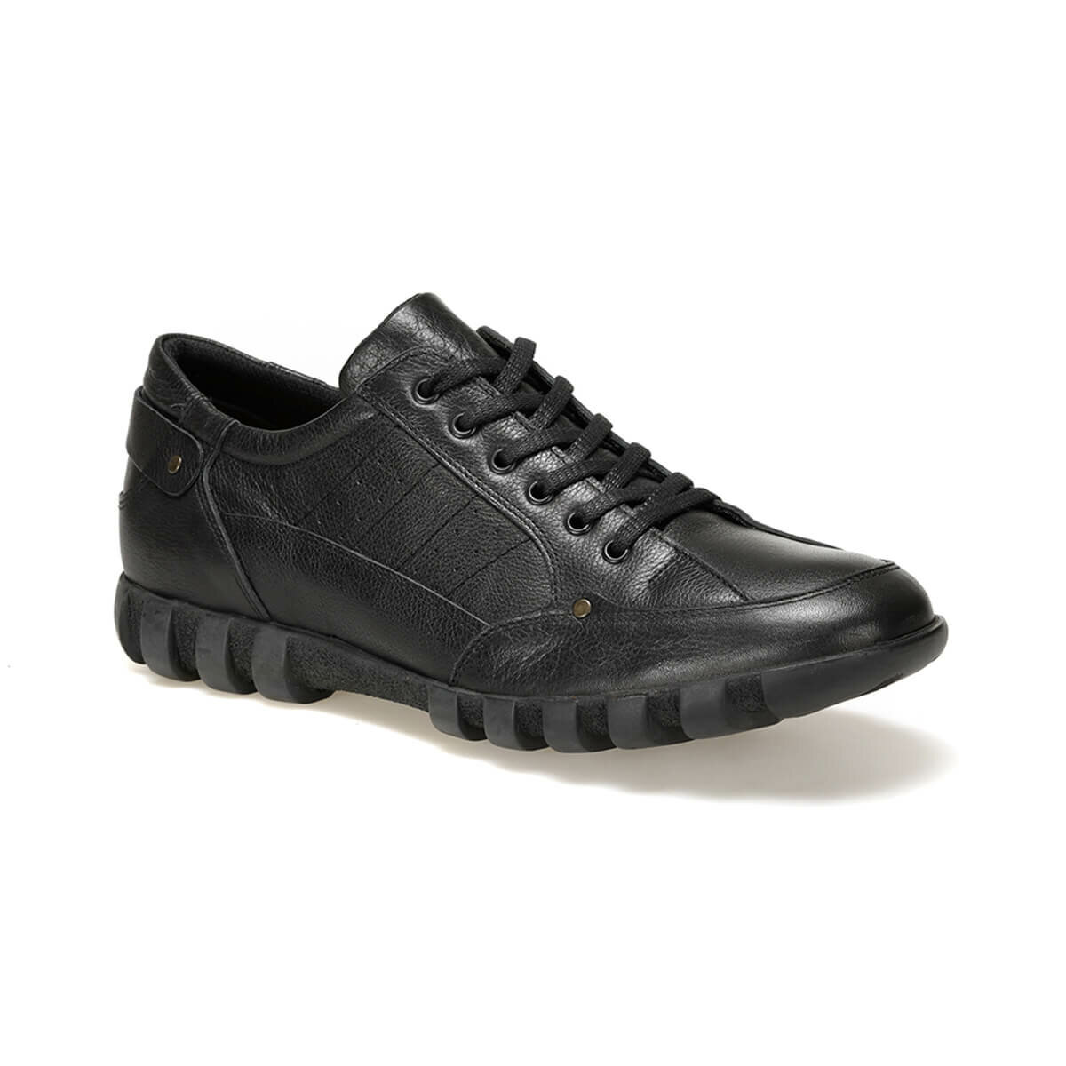 FLO 703 C 19 Black Male Shoes Oxide