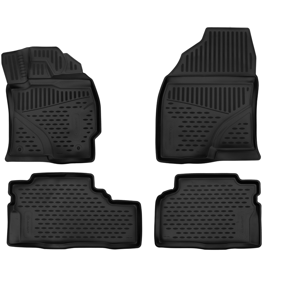 3D Mats In The Interior For TOYOTA Prius Alpha, 2012, P. R. 4 PCs ELEMENT3D1853210k