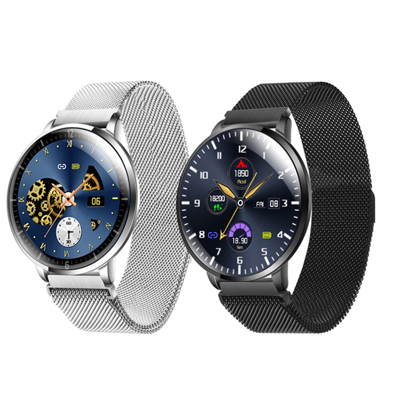 cheapest Side ultrathin Smart Watch 2020 roun screen Fitness Tracker Heart Rate Monitor IP68 Waterproof  Smartwatch for Women Men Android
