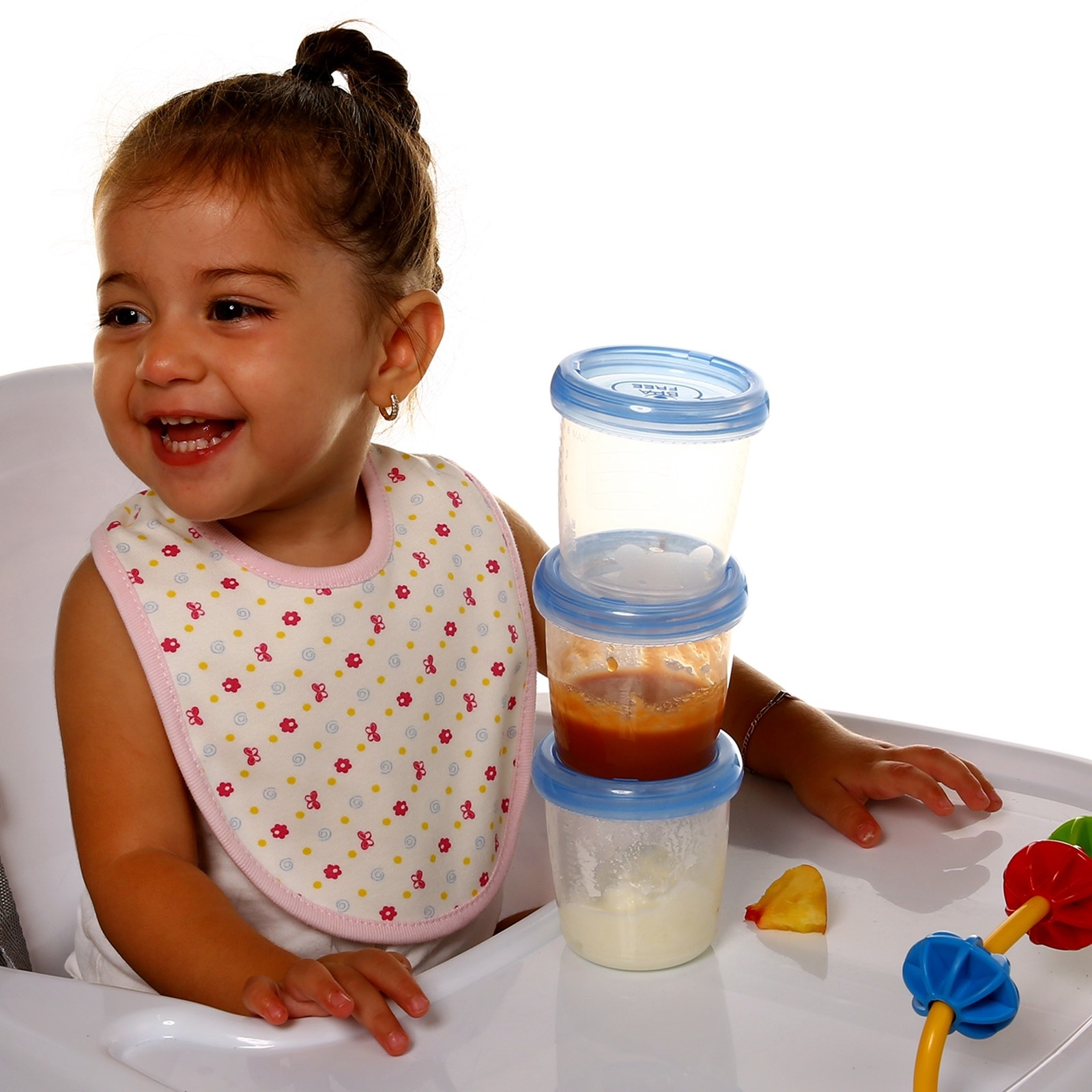 Ebebek Baby&plus Milk And Food Storage Container 4 Pcs 180 Ml
