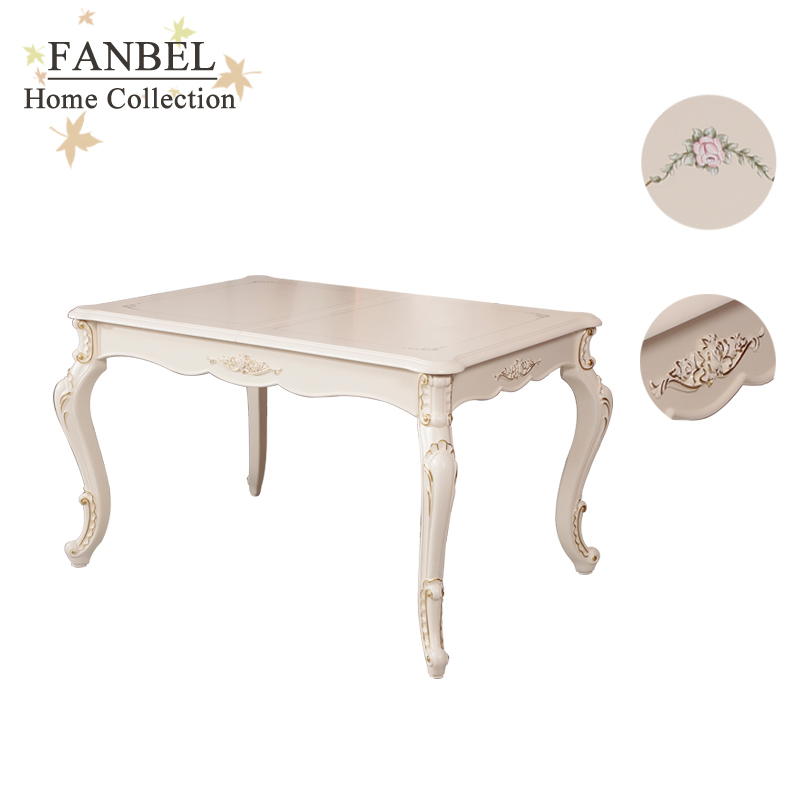 FANBEL Stretch Extending Dining Table Kitchen Table Classic