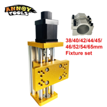 CNC Milling Machine Accessories Multi-function Metal Sliding Table for Zaxis adjustable height  Apply Nema17/23 42BYG/57 Stepper