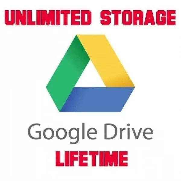 Google Drive stockage illimité avec yourx personnel Gmail pour un temps illimité 100% garantie de livraison-produit dorigine