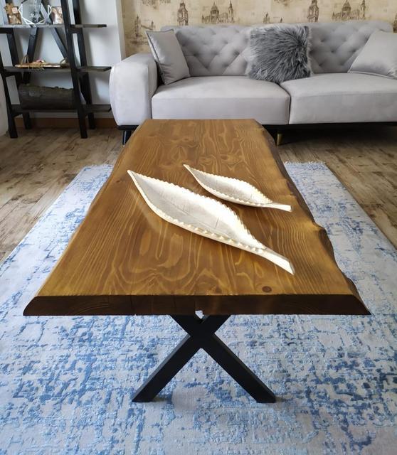 Ağaç orta sehpa Wooden Coffee Table 6