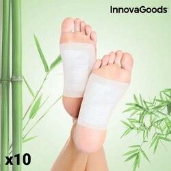 Plastry na stopy InnovaGoods Detox (zestaw 10 sztuk)