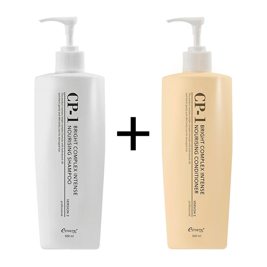 Shampoo + Hair Conditioner Aesthetic House CP-1 Bright Complex Intense Nourishing Set V2.0
