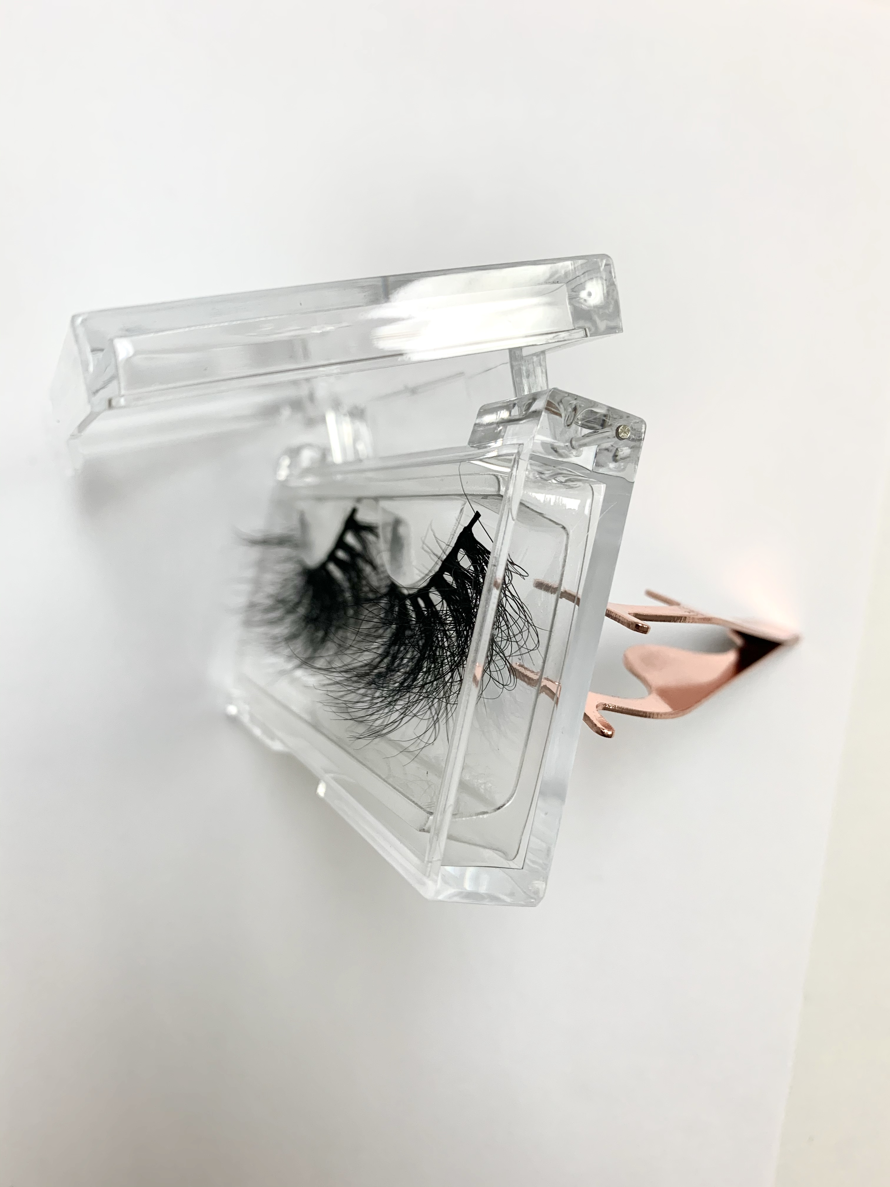 Ultimate DealÖPacking-Boxes Gift-Box Custom-Eyelashes 1000pcs UPS 100%Handmade╠