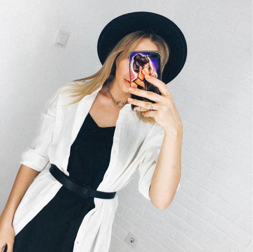 Cotton Women Blouse Shirt Summer New Linen Cottons Casual Plus Size Womans Long Section Shirts White/Blue photo review