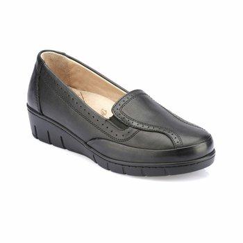 FLO 82 110002 Z czarne buty damskie Polaris 5 Point tanie i dobre opinie Polaris 5 Nokta Trzciny