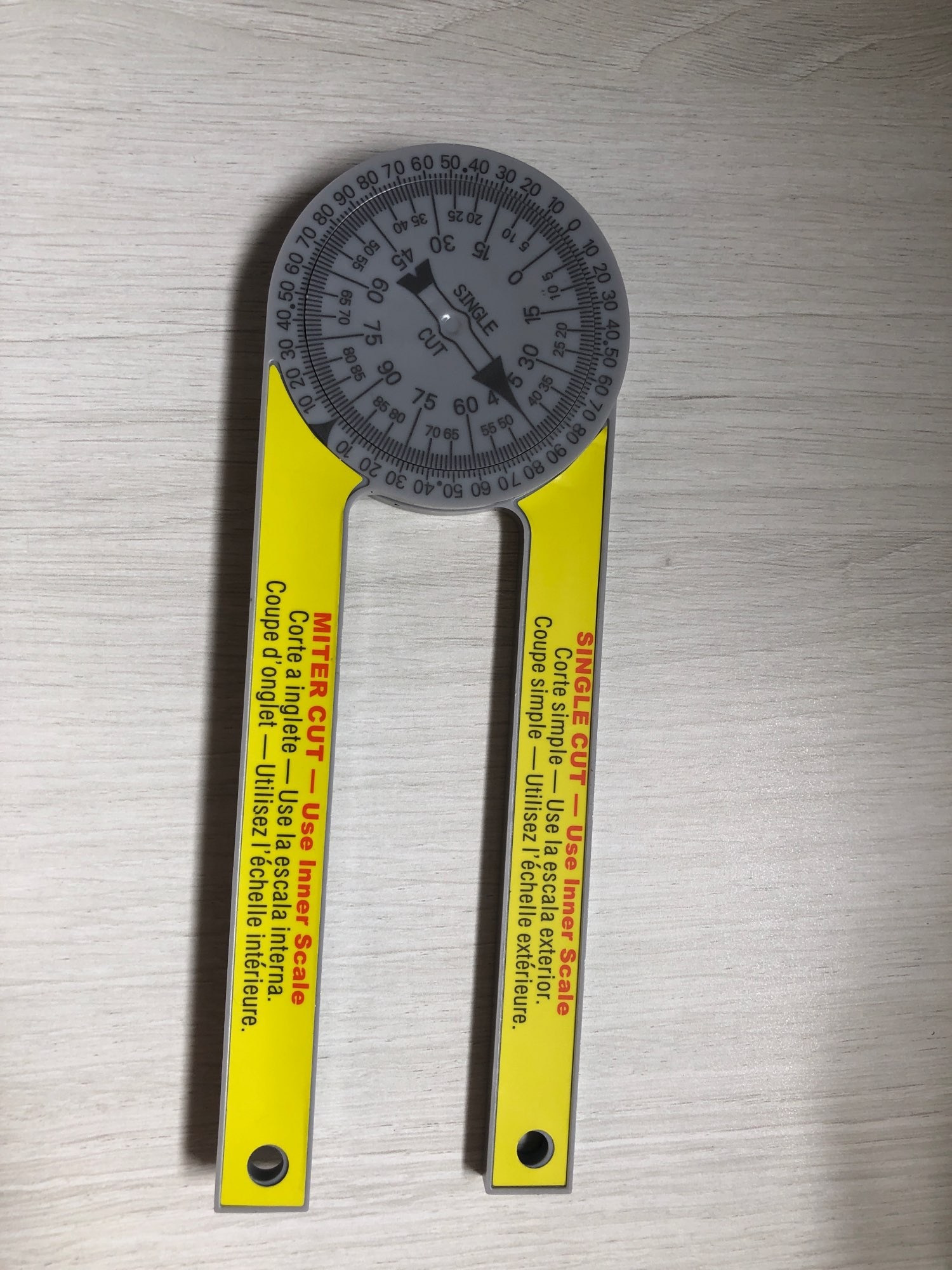 Professional Miter Protractor photo review