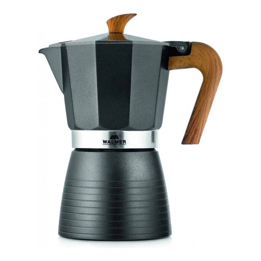 Geyser Coffee Maker Walmer Blackwood For 6 Cups, 0.3l Gray