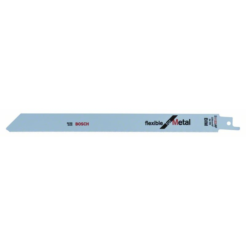 BOSCH-saw Blade Sable S 1122 AF Bendable For Metal