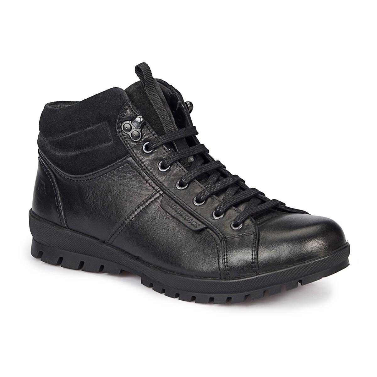 FLO CORTINA HI Black Men Boots LUMBERJACK