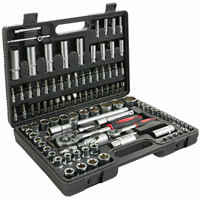 "BRIEFCASE TOOLS 'S 108 PCS RATCHET WRENCH 1/2 ""1/4"" TYPE MANNESMANN"
