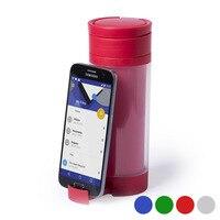 Garrafa de bebida de polipropileno com suporte móvel (390 ml) 145498
