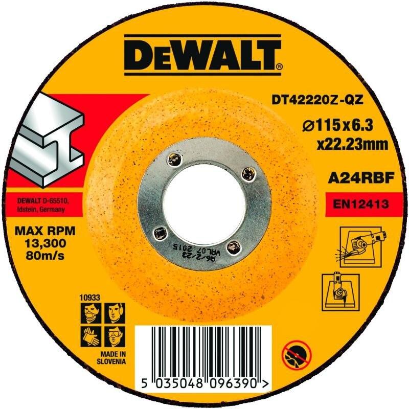 Circle Grinding DEWALT 115х6. 3х22мм