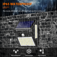 Inghoo Solar Lights Motion Sensor 100 LED Super Bright Lights Solar Outdoor Spotlight Flood Lighting for Backyard Garden