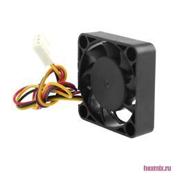 Cooling fan 4010-s-12 3-pin cooler 40x40x10mm 12 V