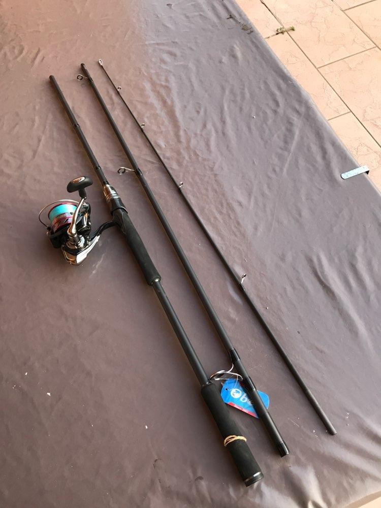 Varas de pescar Fundição Spinning 7g-55g