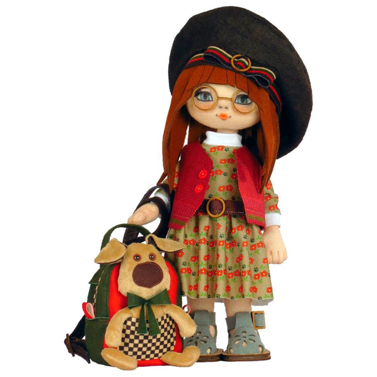K1091 Set For Creating A Frame Textile Doll 'Girl Ellie '45 Cm