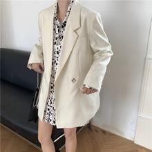 Модные блейзеры пальто для женщин осень 2020 новый повседневный