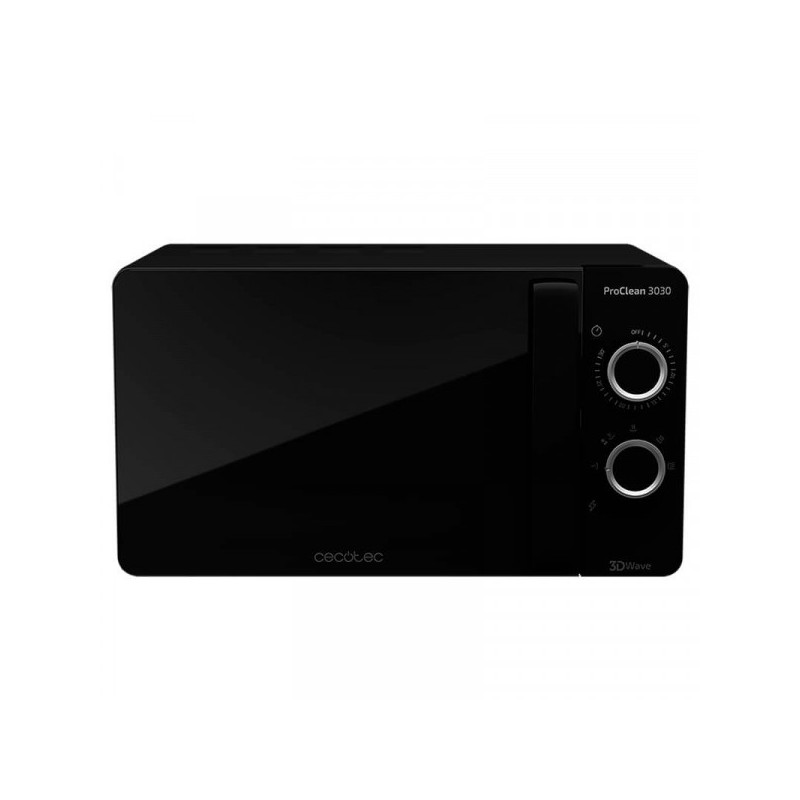 Microwave Black ProClean 3030 Mirror