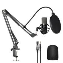 Neewer NW-700 スタジオコンデンサーマイクpcカラオケyoutubeプロ録画放送でmikrofonスタンド