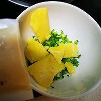 黄油牛奶葱香花卷的做法图解4