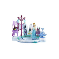 Doll Disney Frozen Elsa on ice rink game set cold heart