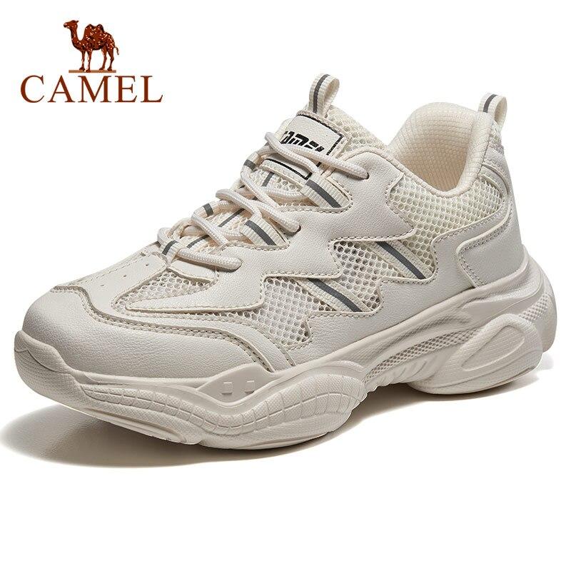 CAMEL marche plate-forme chaussures Sneaker mode femmes hommes classique extérieur respirant antichoc Chunky stabilité Couple décontracté 2019