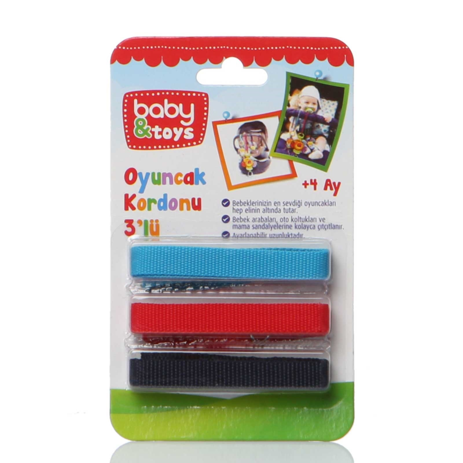 Ebebek Baby&toys Toy Cord-3 Pieces