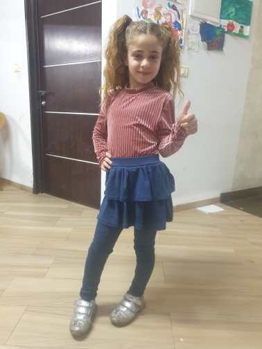 Cotton kids girls leggings with skirt Culottes Render Pants for children Flower Floral Printed Elastic Pencil Pants trousers photo review