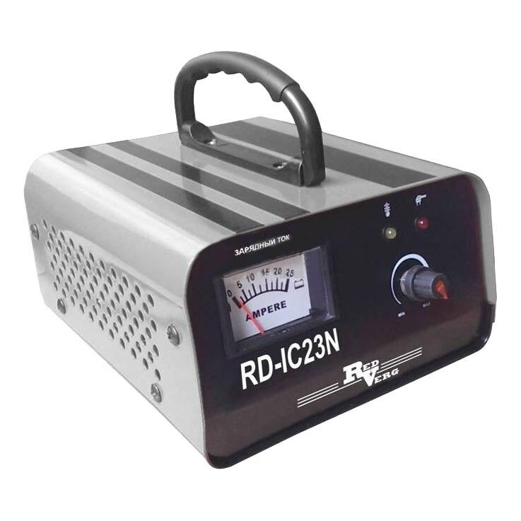 Устройство зарядное для АКБ RedVerg RD-IC23N (Напряжение: вход- 220 В/50Гц; выход- 12В; 570Вт; Ток заряда: 0,5-18А, защи