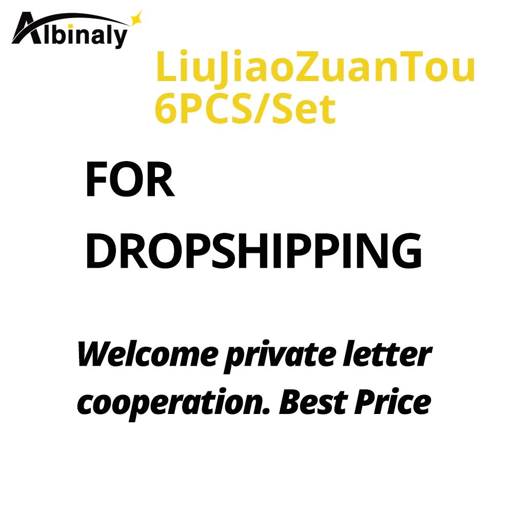 FOR Dropshipping .Welcome Private Letter Cooperation-Wallison Victor-LiuJiaoZuanTou 6pcs/SET