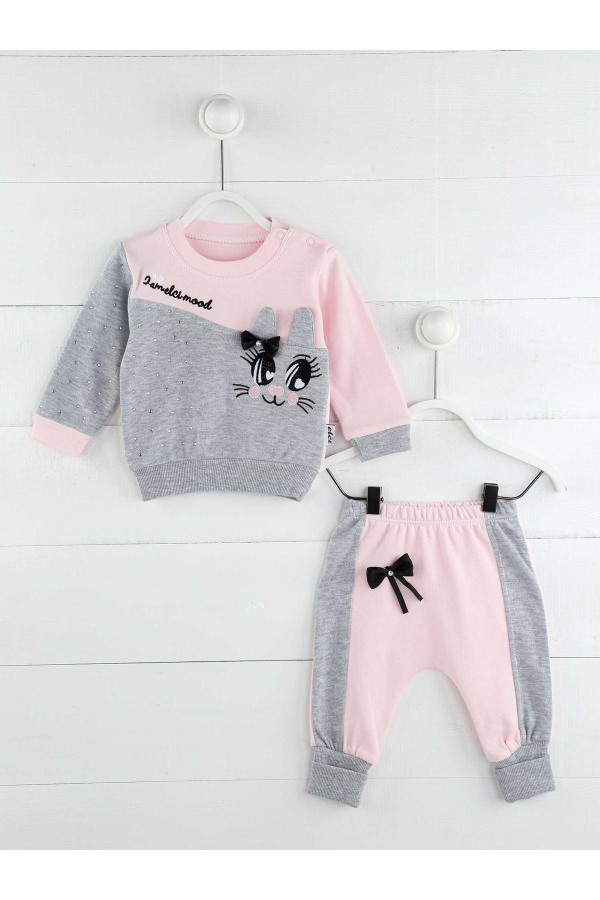 Pink Seasonal Girl Baby 2 Li Suit
