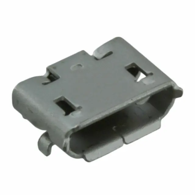 105017-0001 (1050170001) - USB - Micro B USB 2.0 Receptacle Connector 5 Position Surface Mount, Right Angle; Through Hole